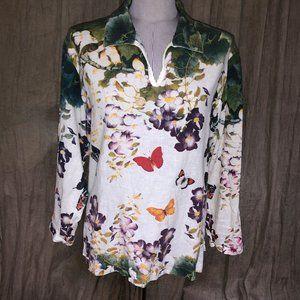 Roberta Roller Rabbit Freymann Butterfly tunic M
